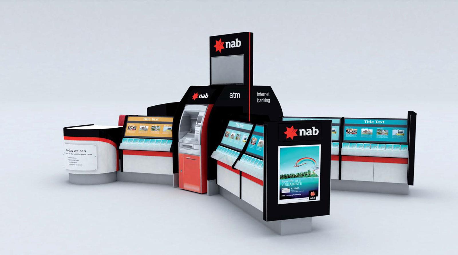 NAB KIOSK – AUSTRALIA WIDE – Cube Company